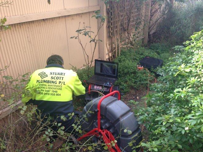 Drainage Plumbers at Work