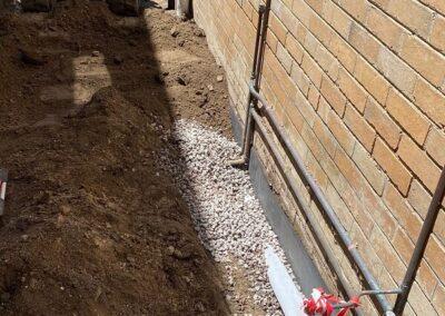 agi hot water pipe installation